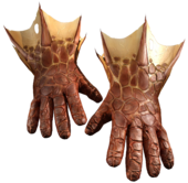 Dragon-hide gloves Book of Spell