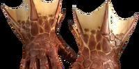 Dragon-hide gloves