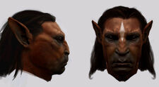 Centaurs (face close up - conceptual artwork)
