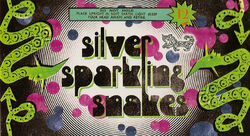 Silver Sparkling Snakes