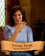 Fiona Shaw (Petunia Dursley) PoA screenshot