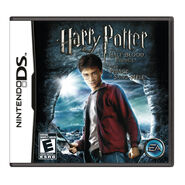 Half-Blood Prince box art Nintendo DS