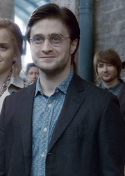 Harry Potter age 37