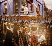 Fred&george weasley wizard wheezes