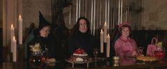 McGonagall Snape Umbridge Feast
