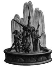 Fountain of magical brethren