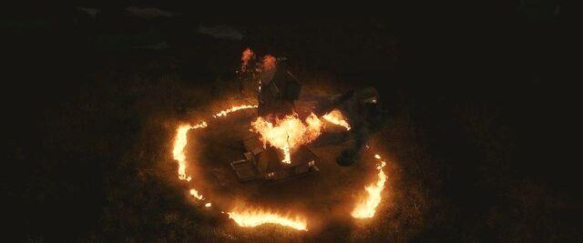 File:Bellatrix Fiendfyre and destroying Burrow.JPG