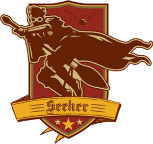 Seeker Badge (Brown and Maroon) - Harry Potter and the Half-Blood Prince™.png