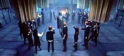 Dumbledore's Army in circle