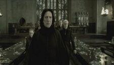 Snape fleeing