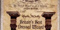 Britain's Best Dressed Wizard Award