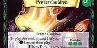 Pewter Cauldron (Trading Card)