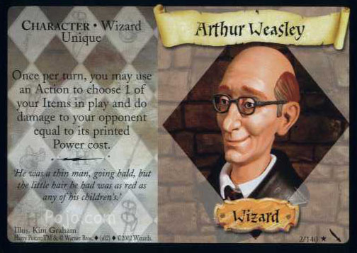 File:Arthur Weasley (Harry Potter Trading Card).jpg
