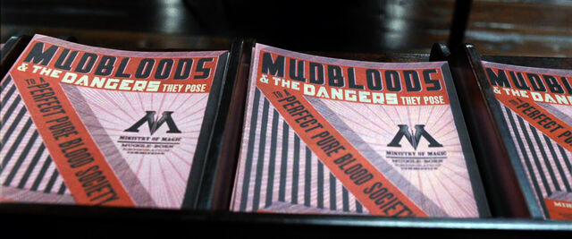 File:DH1 Mudbloods and the Dangers they Pose pamphlet.jpg