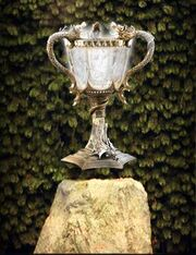 The Goblet of Fire Triwizard cup Portkey