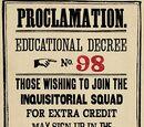 Educational Decree Number Ninety-Eight