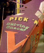 Pick 'N' Trix Skiving SnackP (Weasleys' Wizard Wheezes product)