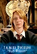 James Phelps (Fred Weasley) HP4 screenshot 01