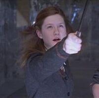 Ginny in the DA