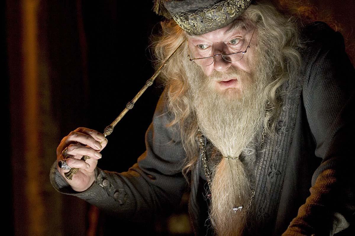 Dumbledore and Elder Wand