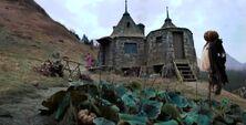 Hagrid's hut in 1995