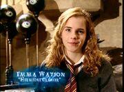 Emma Watson (Hermione Granger) HP4 screenshot