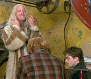 Xenophilius speaks to Harry and Ron 1