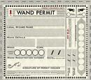 Wand permit