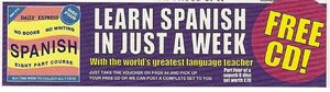 LearnSpanishCDsAd