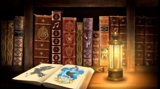 File:Books at Hogwarts Library Restrictred Section.JPG