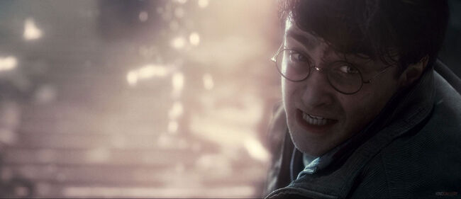 Deathly hallows harry explosion