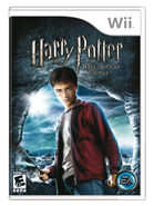 Half-Blood Prince video game Wii cover art