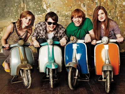 File:Harry potter cast on minie bikes.jpg