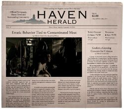 Stay - Herald Cover