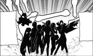 Four Segawa Warriors