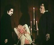 Dracula, Frankenstein and Judith