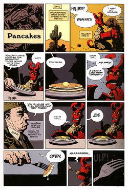 Hellboy 'Pancakes'