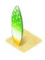 Yellowishgreensurfboard