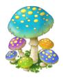 Bluemushrooms