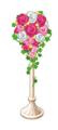 Pinkbouquetflowerpot
