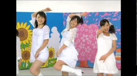 ℃-ute - Meguru Koi no Kisetsu (MV) (Dance Shot Haru Ver