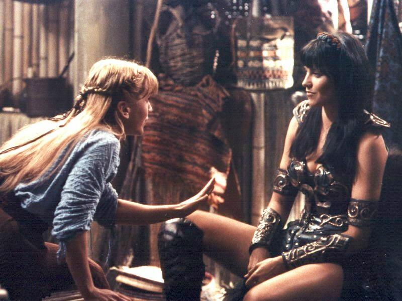 xena and gabrielle first time