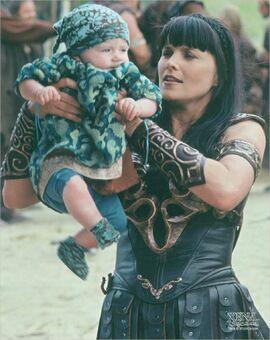 Xena baby Eve Under Seige