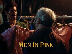 Men in pink title