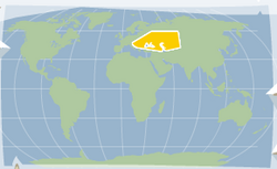 Danube Clouded Yellow location