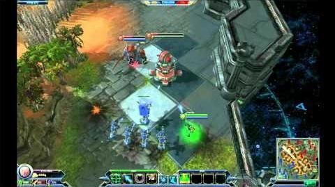 Blizzard DotA - Tower Mechanic