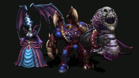 In Development Hallow's End skins for Kerrigan, Abathur, and Tychus
