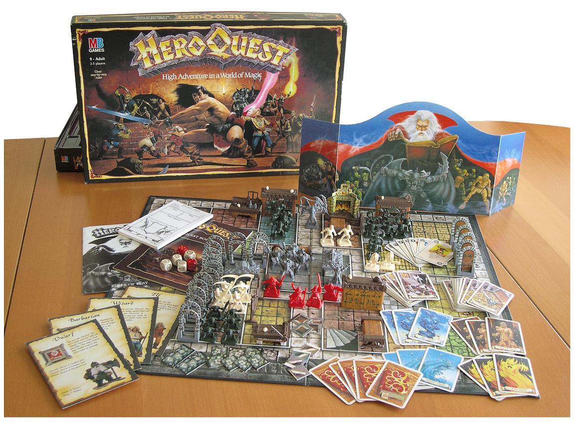 Loretome heroquest heroquest interactive wiki fandom - Dungeon gioco da tavolo ...