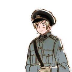 Finland (from the WWII uniform series by Himaruya).