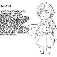 Russia's introduction in Hetalia World ☆ Stars.